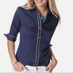 2/$35 Banana Republic Milly Collection button down